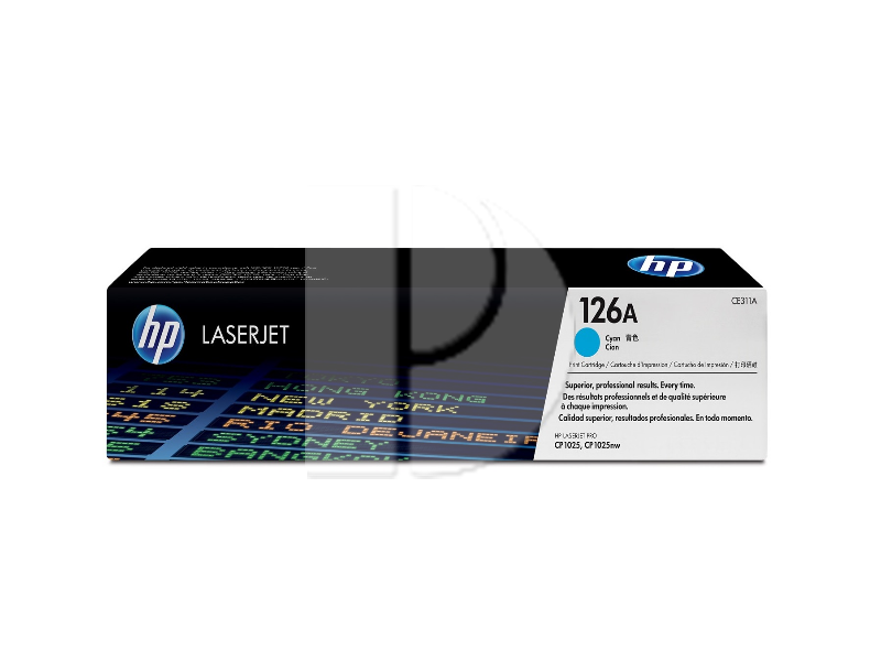 HP CE311A (126A) Cyan Original Toner Cartridge